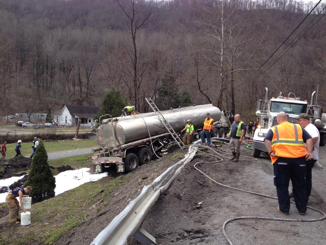 Three Tanker Truck Accidents Worthy of Notice, Local